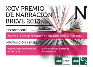 Premio Narración 2013