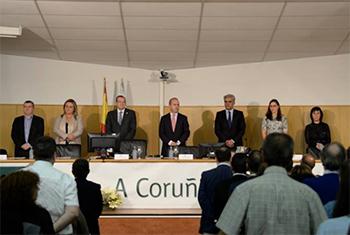 Acto Apertura de curso en A Coruña