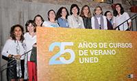 Exposición 25 años Cursos de Verano UNED