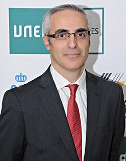 Fco. Javier García Castilla, vicerrector adjunto de Deportes de la UNED
