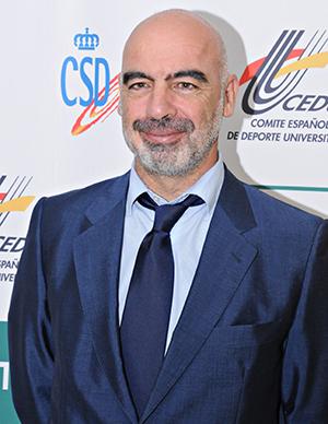 Juan Pablo Cerezo, jefe del Servicio de Deportes Universitarios del Consejo Superior de Deportes