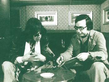 José Ramón Pardo con Mick Jagger