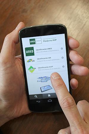 La plataforma AVIP, disponible en dispositivo móvil