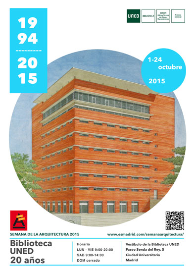 Uned semana de la arquitectura for Biblioteca uned madrid