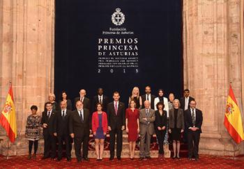Premiados Princesa de Asturias