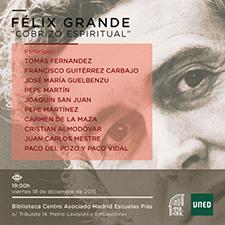 Foto de la noticia La UNED recuerda a Félix Grande