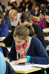 Foto de la noticia La UNED organiza su primera convocatoria de exámenes del curso 2015-2016