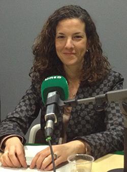 Elena González-Blanco en Radio UNED