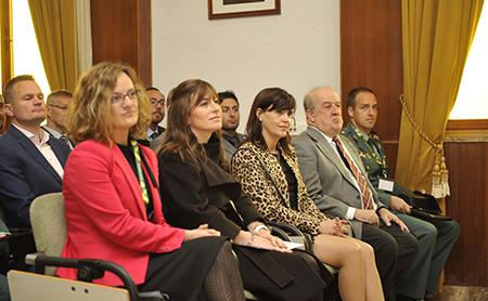 Claribel de Castro, Rebeca de Juan, Nuria Carriedo y Pablo de Diego