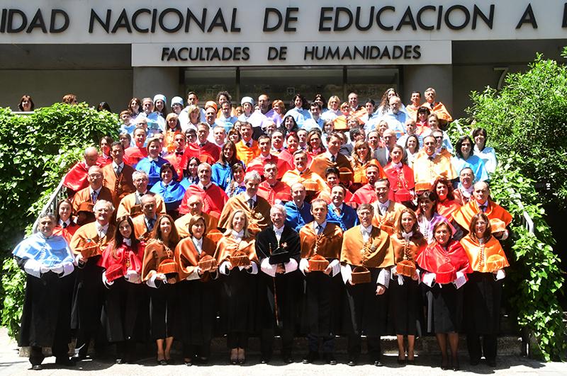 80 nuevos doctores de la UNED