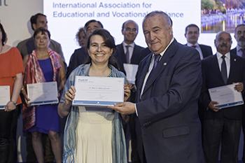 La organización del Congreso de la Asociación Internacional de Orientación Educativa y Profesional, reconocida por el Ayuntamiento de Madrid