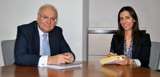 José Manuel Guirola y Ana de la Herrán