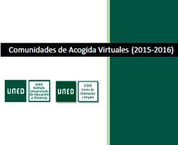 Informe de Acogidas Virtuales (2015-2016)