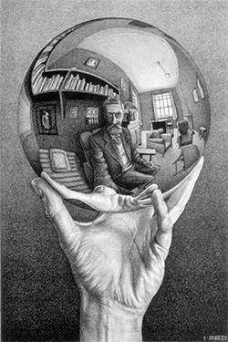 Hand with reflecting Sphere, 1935