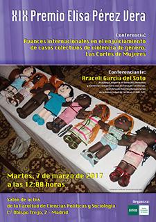 Foto de la noticia Entrega del XIX Premio Elisa Pérez Vera a una investigación sobre educación no sexista
