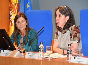 Elena Hernández Corrochano y Araceli García del Soto