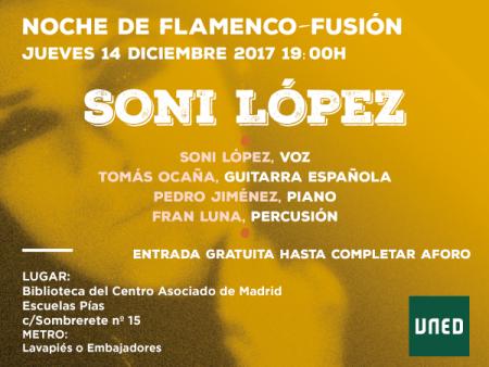 NOCHES DE LA UNED: Noche de flamenco-fusión