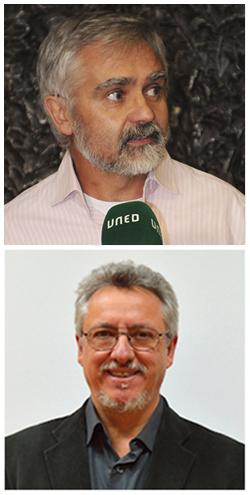 José Ubaldo Bernardos y Miguel Santamaría