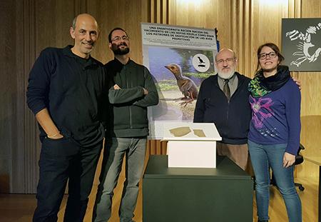 Francisco Ortega (UNED), Fernando Escaso (UNED), José Luis Sanz (UAM) y Elena Cuesta (UAM)