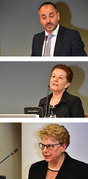 Juan Carlos Pérez, Teresa Aguado y Maria Luisa Sevillano