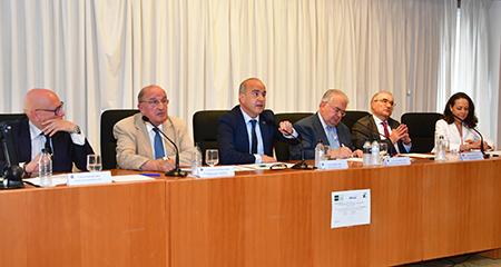 Manuel Díaz, José Antonio Escudero, Ricardo Mairal, Juan José González, Benigno Pendás y Yolanda Gómez