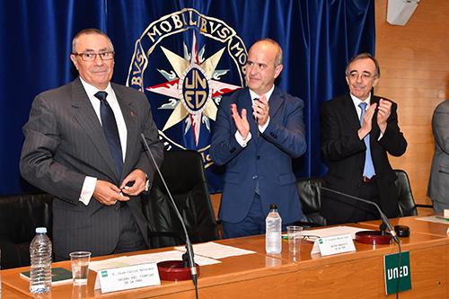 Carlos Antoranz, nuevo decano de la Facultad de Ciencias