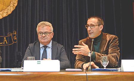 Antonio Bravo (izda.) y Sergio Ramírez