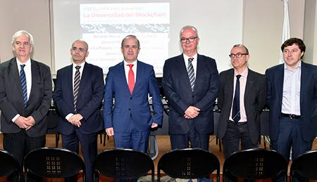 Germán Ruipérez, Luis González, Ricardo Mairal, Javier Lozano, Gorka Palazio y José Carlos García Cabrero