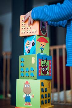 torre de cubos