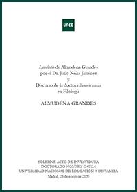 Libro Almudena Grandres
