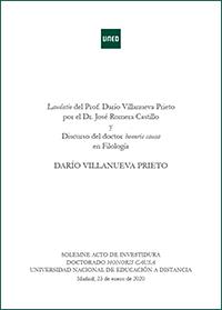 Libro Dario Villanueva
