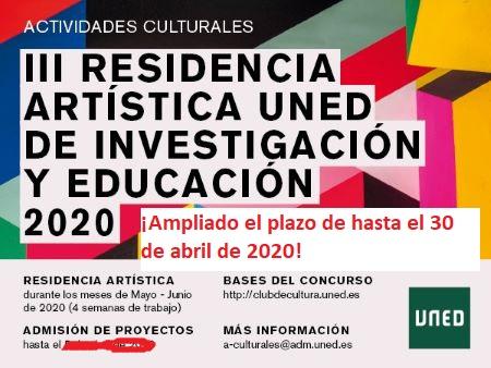 III Residencia Artística de Investigación y Educación