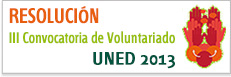 III Convocatoria Voluntariado