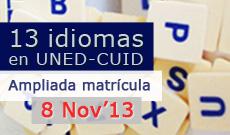UNED. Idiomas. CUID.