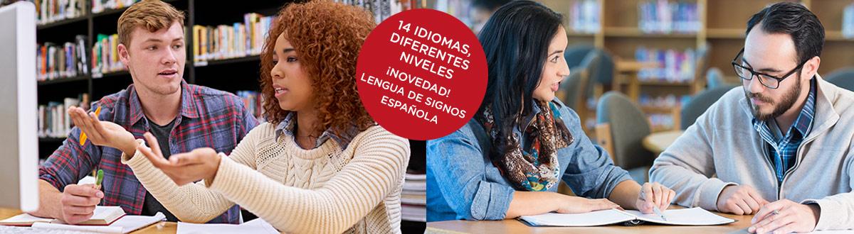 Prepara tus idiomas en el Centro Universitario de Idiomas Digital y a Distancia (CUIDD). Matricúlate en la prueba de nivel hasta el 7 de abril