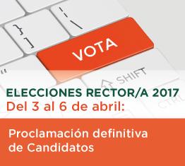 Proclamación definitiva de candidatos para la segunda vuelta