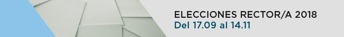 Acceso a la página web de Elecciones a Rector