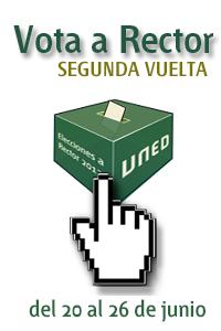 Vota a Rector UNED 2013 Segunda vuelta