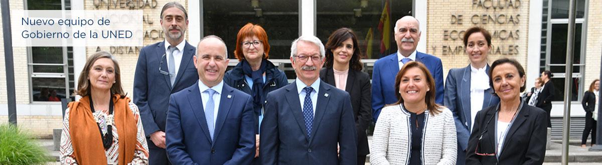 Los nuevos vicerrectores y la nueva secretaria general han tomado posesión de su cargo ante el rector