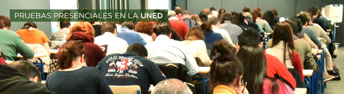 Pruebas presenciales en la UNED